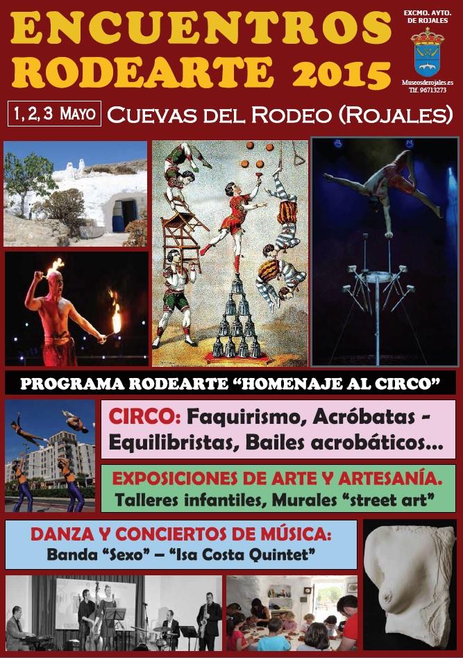 Cartel Rodearte 2015